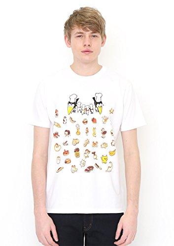(グラニフ)graniph コラボレーションTシャツ / Tシャツ / いろんなパン ( かこさとし ) ( ホワイト ) SS