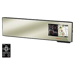 セルスター(CELLSTAR) ASSURA 無線LAN搭載 3.7インチ液晶搭載 GPSミラー型レーダー探知機 300mm平面鏡 AR-191GM