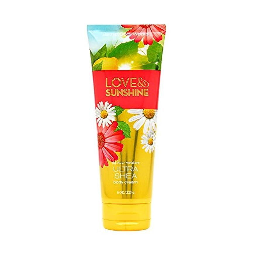 切り下げ予防接種する端末LOVE & SUNSHINE Ultra Shea Body Cream