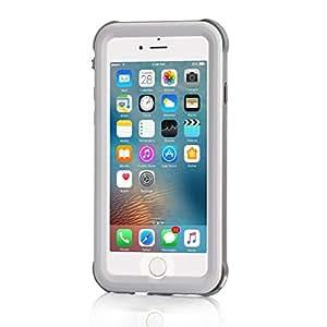 Merit iPhone8 Plus ケース iPhone7 Plus ケース 防水ケース ワイヤレス充電 防塵 耐衝撃 IP68 アイフォン8 プラス / 7 プラスケース 防水カバ (7Plus&8Plus-白)