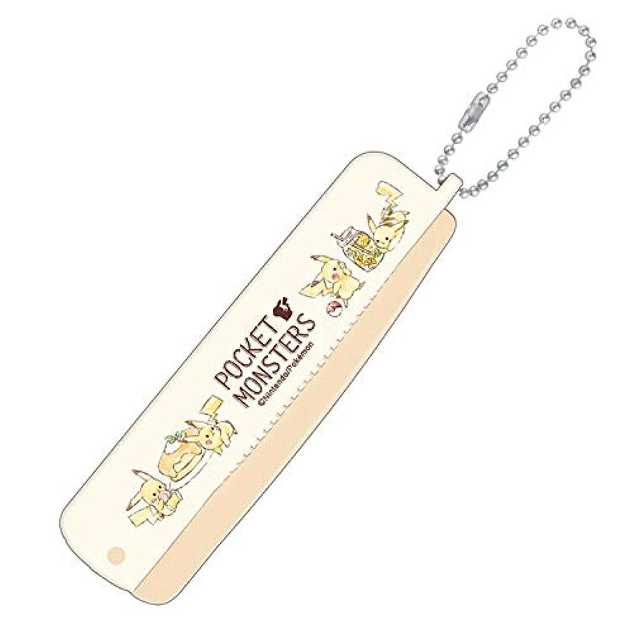 船上疎外する電球【ポケットモンスター】折りブラシ&コーム(カフェ) 099049