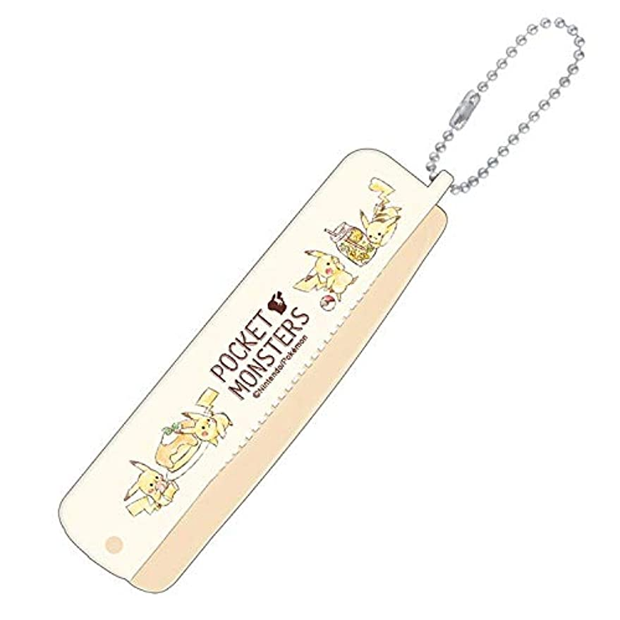 聖職者画像チャート【ポケットモンスター】折りブラシ&コーム(カフェ) 099049