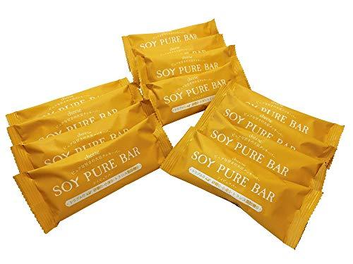 【糖質 制限中にピッタリな砂糖不使用でグルテンフリー】ソイピュアバー 12本(チーズ)