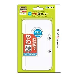 【3DS LL用】任天堂公式ライセンス商品 TPUやわ硬カバー for ニンテンドー3DS LL クリア