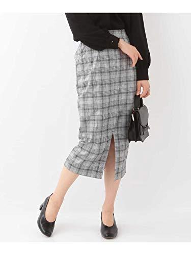 (エムケーミッシェルクラン) MK MICHEL KLEIN グレンチェック柄ナロースカート FUHID01120