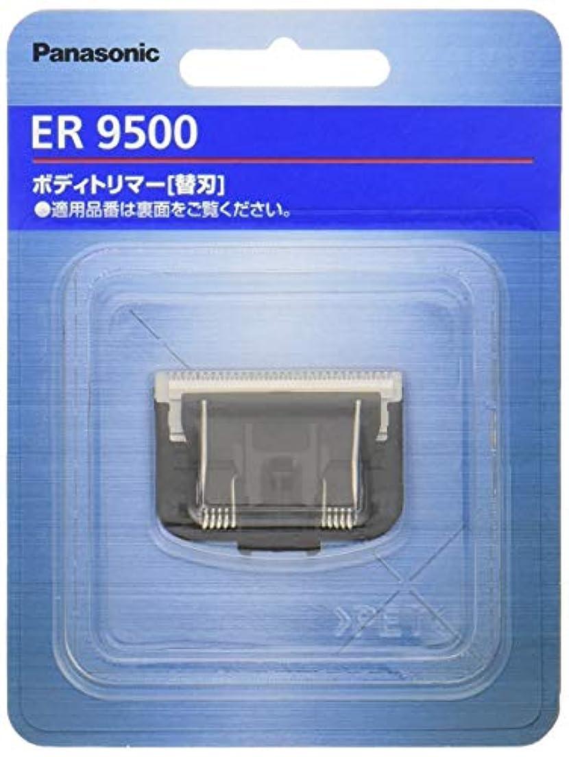 補償鳴り響くチャンスパナソニック 替刃 ボディトリマー用 ER9500