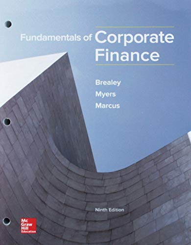 Download GEN COMBO LOOSELEAF FUNDAMENTALS OF CORPORATE FINANCE; CONNECT ACCESS CARD 1260149587