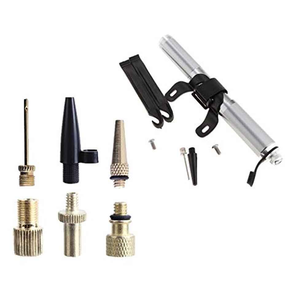 ゲート膜ユーザーDYNWAVE 自転車用エアーポンプ インフレータポンプノズルキット プレスタアダプター プレスタバルブチューブ