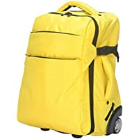 TONGSH Rolling Backpack Freewheel Travel Wheeled Backpack Carry-on Luggage Super Backpack with Wheel Trolley Car Luggage Laptop Compartment (Color : D)