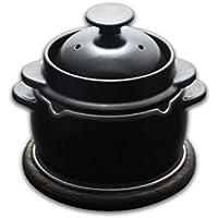 黒樂 かまどご飯釜(小) 1合から2合炊き用