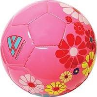 Vizari Blossom Soccer Ball Pink/Blue 3 [Floral] [並行輸入品]