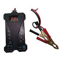 FidgetGear プロフェッショナルカーデジタルバッテリーテスター電圧計充電システムアナライザツール
