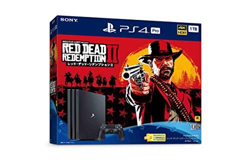 PlayStation 4 Pro レッド・デッド・リデンプション2 パック【Amazon.co.jp限定】アンサー 縦置きスタンド付 & オリジナルカスタムテーマ (配信)