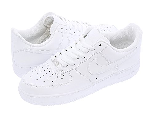 [ナイキ] NIKE AIR FORCE 1 LOW '07 WHITE/WHITE 【定番】【オールホワイト】 [並行輸入品]