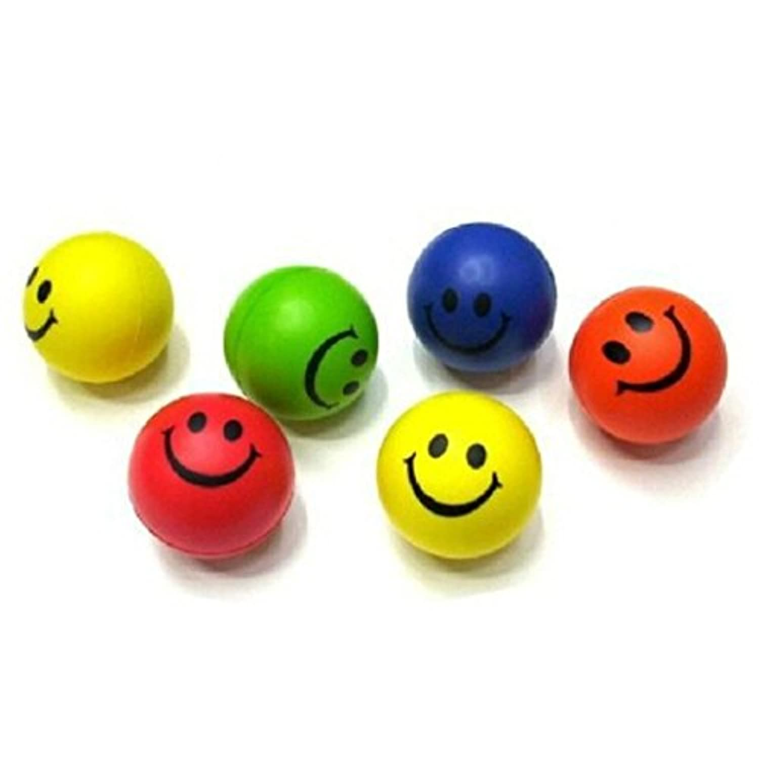 XUANOU Mini Smile Face Ball Relieve Pressure Relaxable Toy