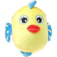 kansea直径7.09 inchコットンStuffed Baby Rattles動物ぬいぐるみおもちゃHandingモバイル幼児Kids Dolls (魚)