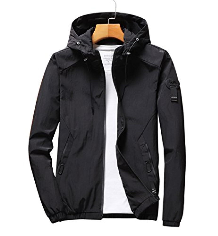 (レコーン) Lecoon マウンテンパーカー ウインドブレーカー アウトドア 登山 ジャケット メンズ 防寒着 防水 防風 カジュアル