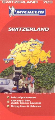 Download Michelin Map Switzerland/Suisse 206712305X