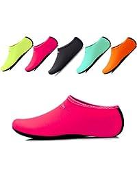 L-RUNJP 男女兼用 ウォーターシューズ 軽量 アクアシューズ シュノーケリング マリン用 やわらかい ソフト 通気 スポーツ 海水浴靴