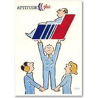 サヴィニャックポスター/Raymond Savignac/エールフランス航空/Air France