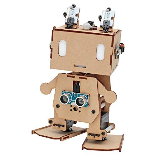 Arduino互換ボード搭載 二足歩行ロボット ピッコロボIoT 自律制御セ...