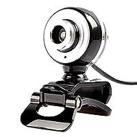 Dovewill  USB ウェブカメラ 左右360度 上下30度 スタンド 回転可能 マイク付き