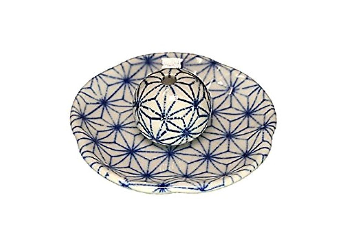 軽蔑著者ジェームズダイソン麻葉 花形香皿 お香立て 日本製 製造 直売品