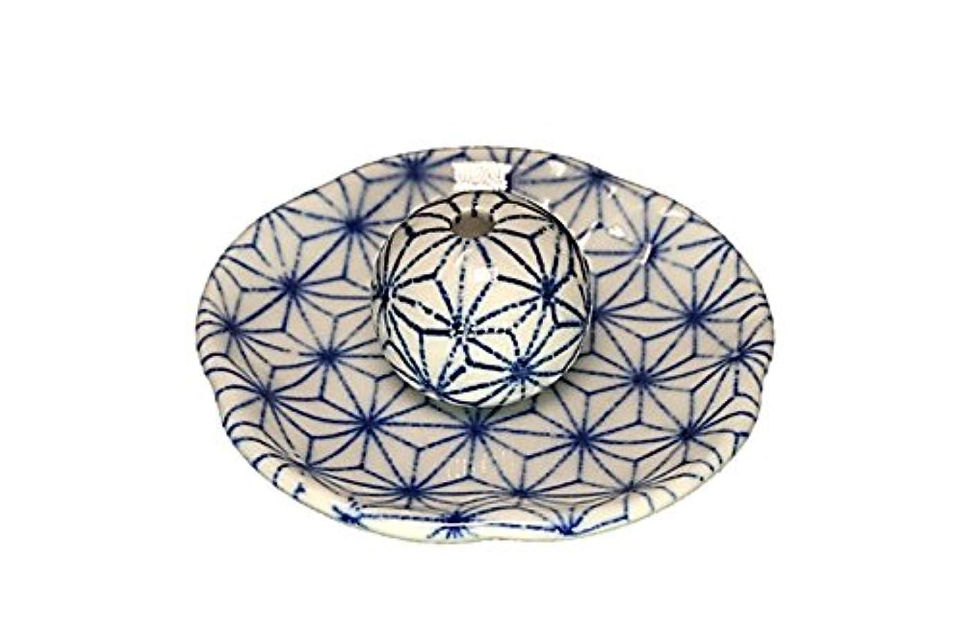 ジャム前文ロードハウス麻葉 花形香皿 お香立て 日本製 製造 直売品