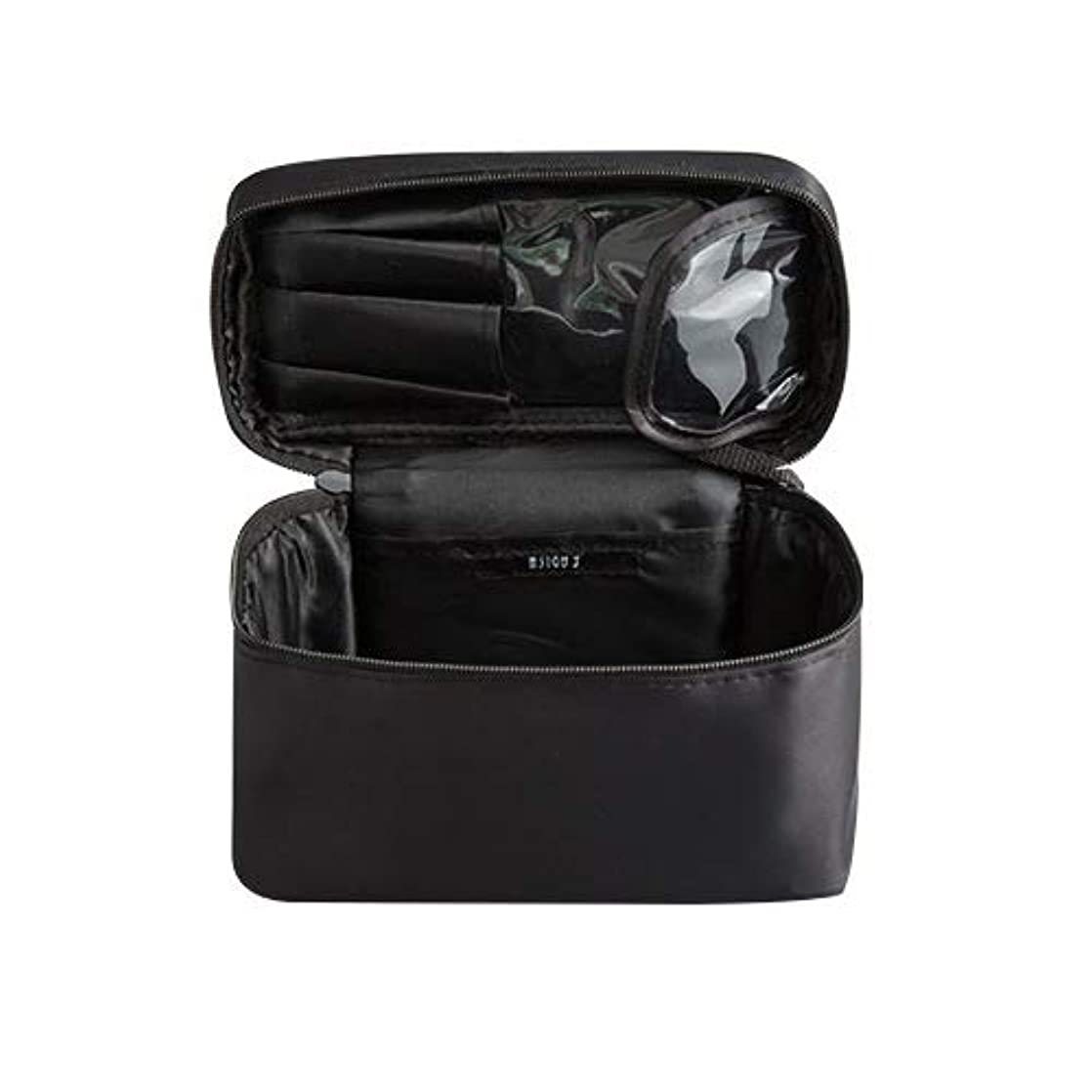 プラスチック直接ブロックメイクボックス プロ用 化粧バッグ 化粧箱 大容量 普段使い 出張 旅行 トラベルポーチ