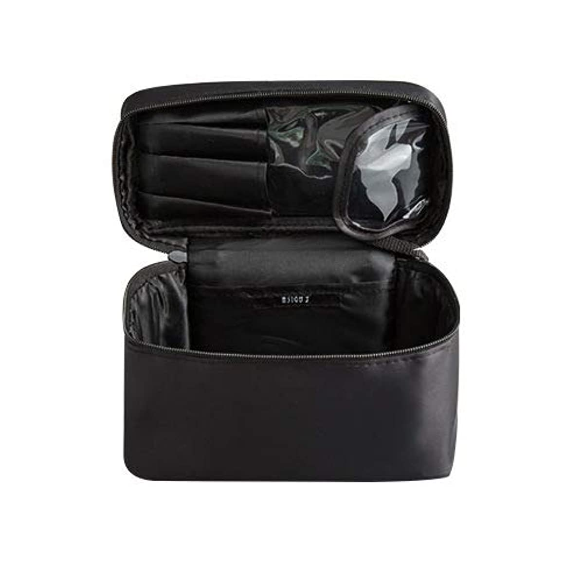 とんでもないパスタビールメイクボックス プロ用 化粧バッグ 化粧箱 大容量 普段使い 出張 旅行 トラベルポーチ