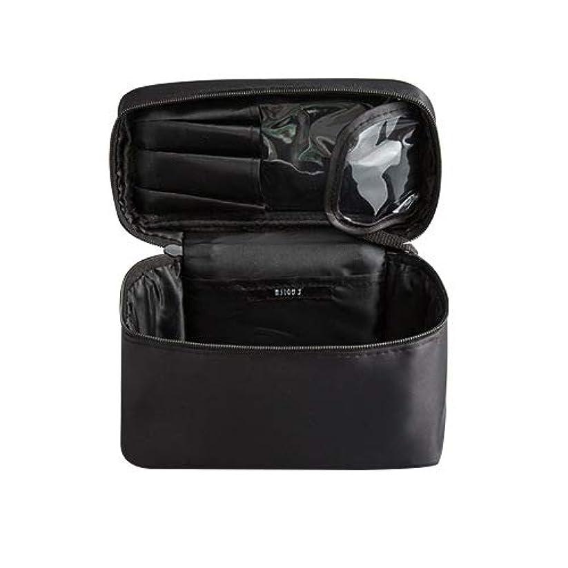 征服解読するコンチネンタルメイクボックス プロ用 化粧バッグ 化粧箱 大容量 普段使い 出張 旅行 トラベルポーチ