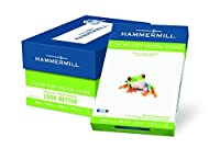 Hammermill Paper Color Copy Digital Cover 80lb 17 x 11100 Bright 1000 Sheets / 4 Pack Case (120037C) Made In The USA [並行輸入品]