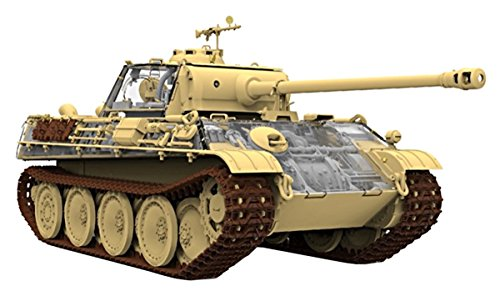 Rayfield models 1/35 Germany army Panther G type Sd.Kfz.171 early / late model with full interior plastic RFM5016