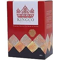 KINGCO 1kg 120pic シーシャ用 ココナツ炭