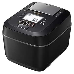 日立 圧力スチームIHジャー炊飯器(5.5合炊き) フロストブラックHITACHI 圧力スチーム ふっくら御膳 RZ-W100CM-K