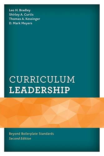 Download Curriculum Leadership: Beyond Boilerplate Standards 147584008X