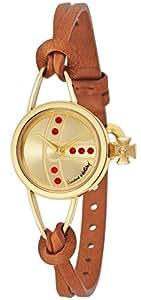 [ヴィヴィアン・ウエストウッド]VivienneWestwood 腕時計 Chancery ゴールド文字盤 VV081GDBR レディース 【並行輸入品】
