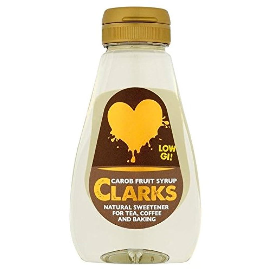 文庫本スラダム包囲クラークスイナゴマメフルーツシロップ250ミリリットル - Clarks Carob Fruit Syrup 250ml [並行輸入品]