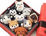 手芸キット MeRaPhy 羊毛 フェルト 小学生 かわいい 製作 キット プレゼント にも 9種類の動物 箱付き