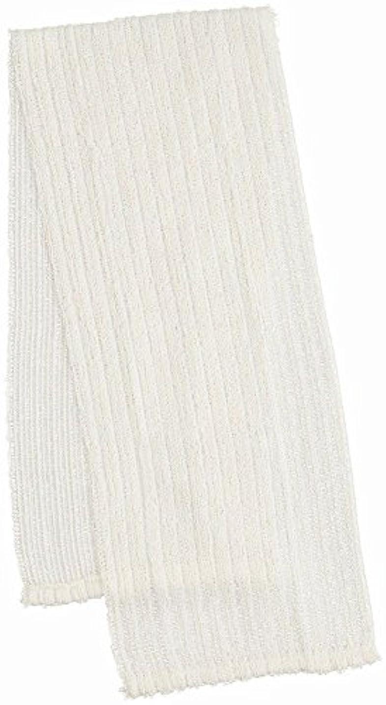 筋肉の禁じるリースマーナ ふっくら絹&綿ボディタオル B540