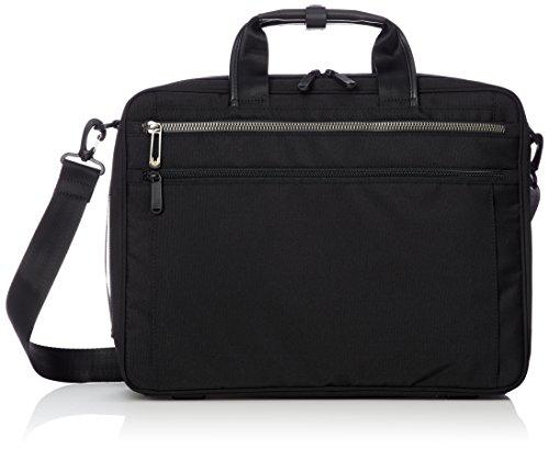 [エースジーン] ビジネスバッグ リテントリー 3WAY 40cm A4 2気室 15inchPC対応 セットアップ 55164 01 ブラック