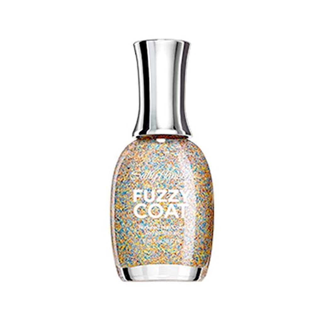 外側スキップ暴露SALLY HANSEN Fuzzy Coat Special Effect Textured Nail Color - All Yarned Up (並行輸入品)