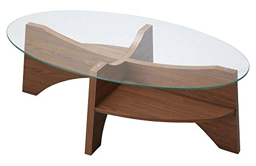 AZUMAYA オーバルテーブル LE-454WAL