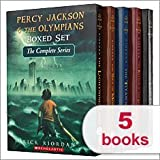 Percy Jackson & The Olympians Boxed Set The Complete Series 1-5: The Last Olympian The Battle of the Labyrinth The Titan's Curse The Sea of Monsters The Lightning Thief (Percy Jackson and the Olympians)