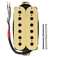 エレクトリックギター デュアルコイル ピックアップ DIY 弦楽器 交換部品 全3色 - ブルー