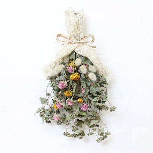 A plus floral art ナチュラル ドライフラワー スワッグ Steppie ステッピー インテリア 壁掛け ブーケ 玄関 北欧