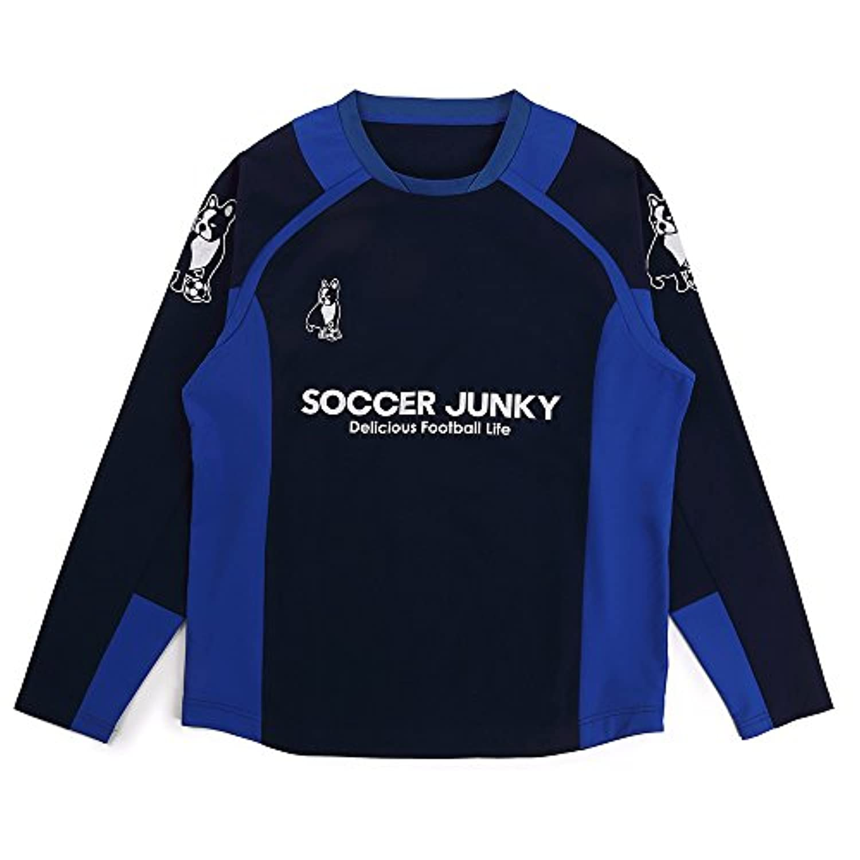 claudio pandiani(クラウディオ?パンディアーニ) Soccer Junky gracias de corazon+3 ハイテンションクロス SJ18070 ネイビー O