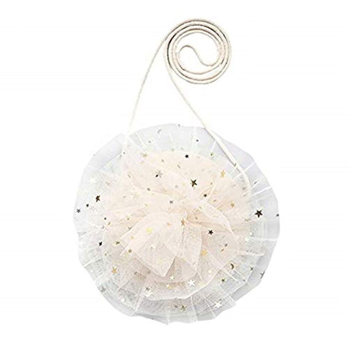 寝室を掃除するシフト原子七里の香 美しい かわいいレース糸フラワーバッグ ミニクロスボディバッグ