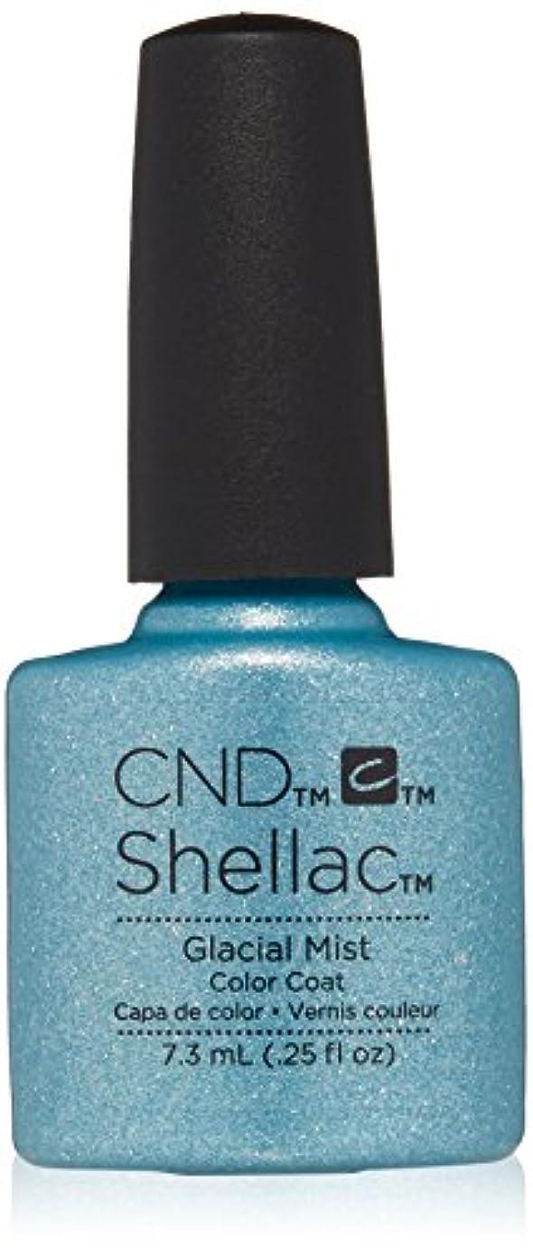 クレア散髪頑固なCND シェラック UV カラーコート 210 グラシアルミスト Glacial Mist 7.3ml
