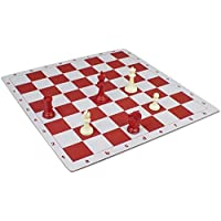 Floppy Chess Board Red & Buff - 2.375 by The Chess Store [並行輸入品]